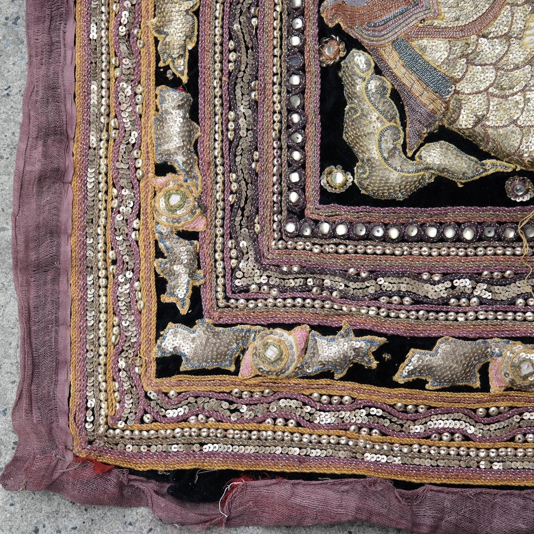 Indian Antique Ceremonial Embroidery - 2