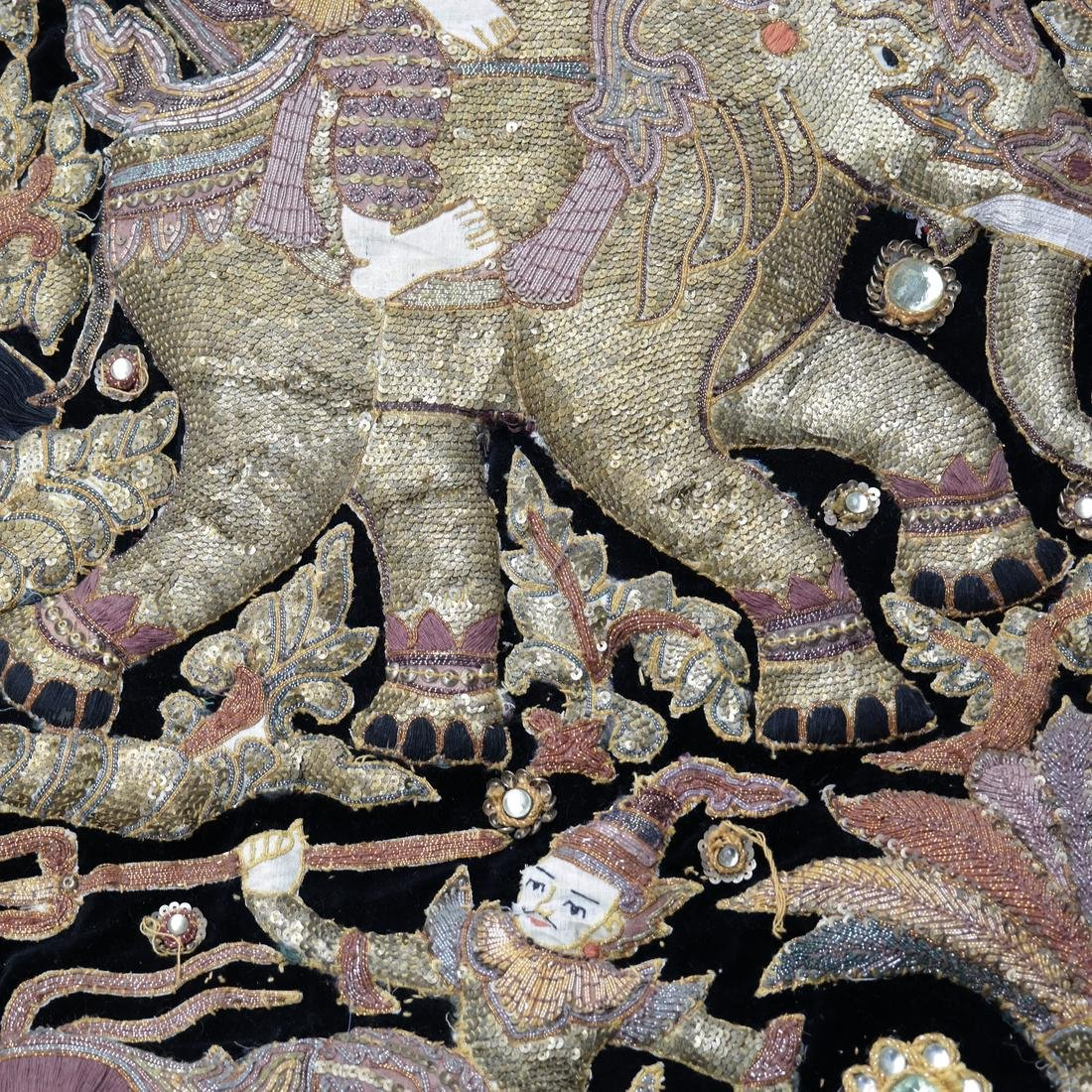 Indian Antique Ceremonial Embroidery - 3