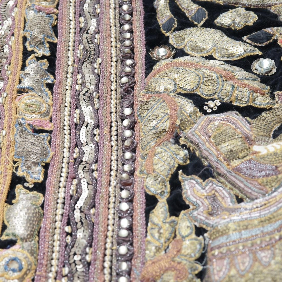 Indian Antique Ceremonial Embroidery - 5