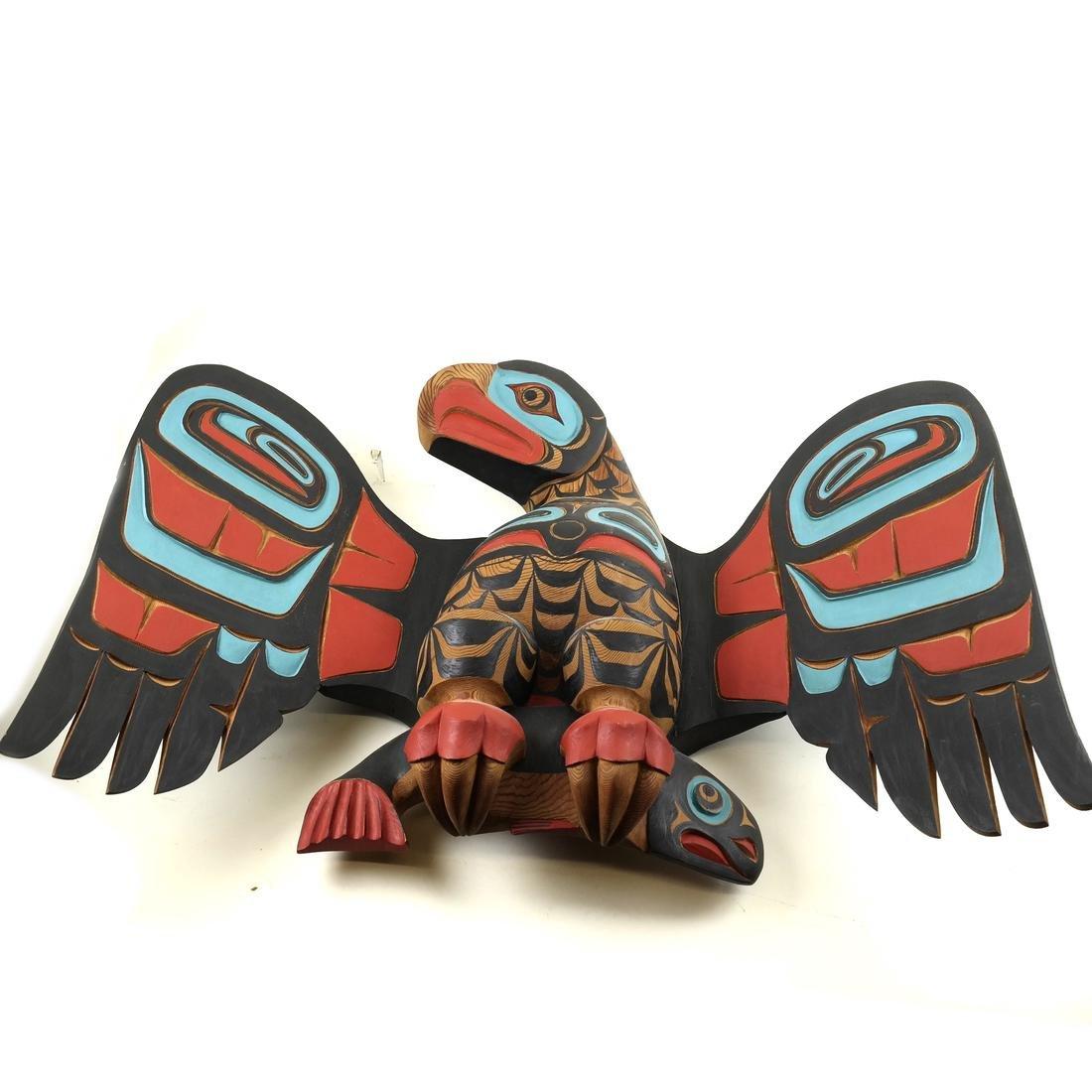 Pacific Northwest Wood Eagle