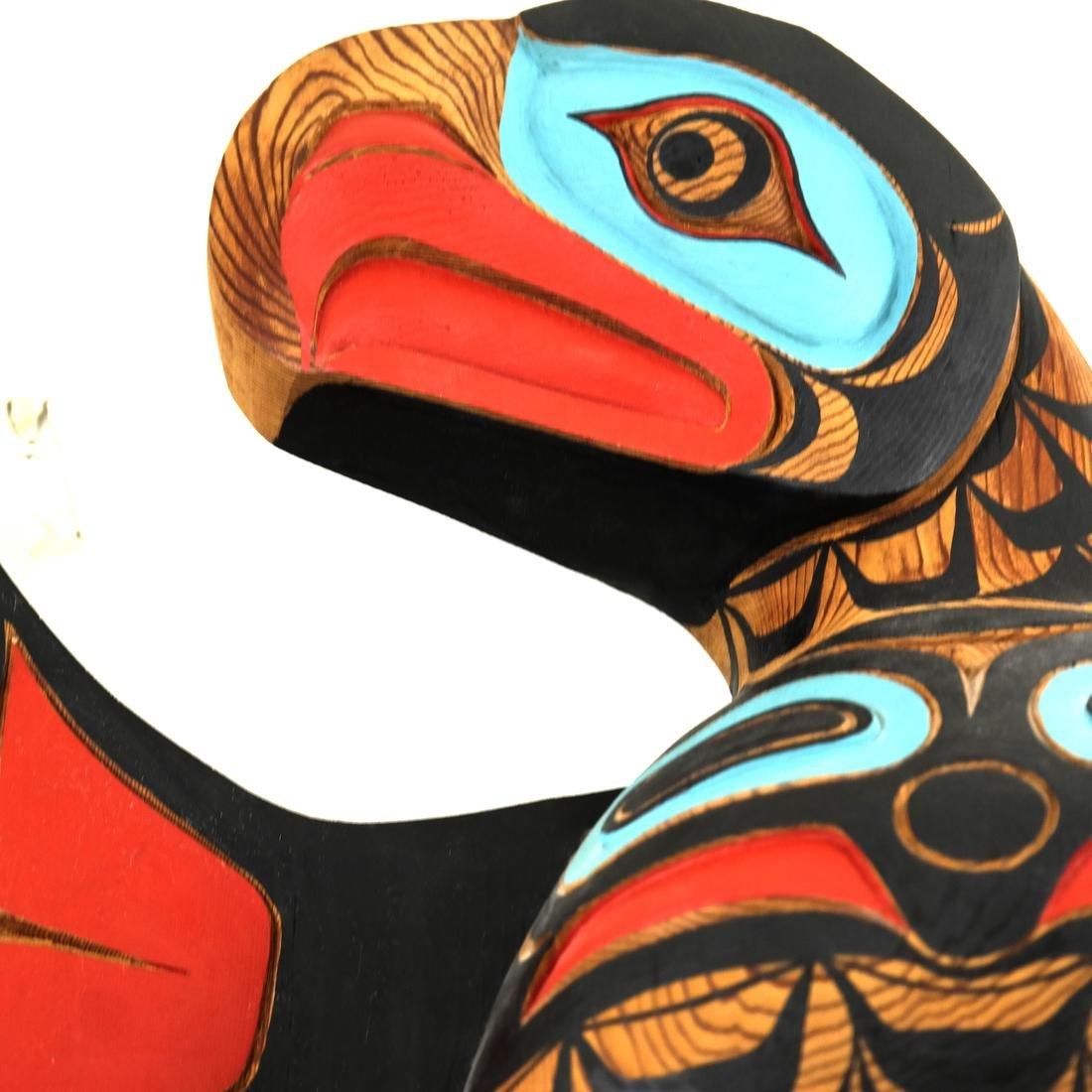 Pacific Northwest Wood Eagle - 2