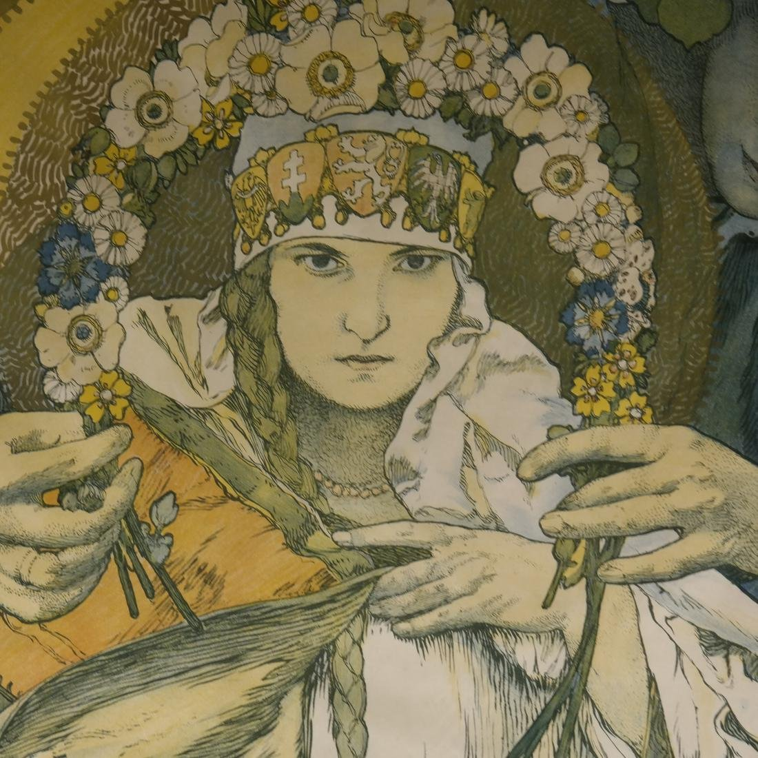 Alphonse Mucha, Czech Republic - Litho - 3