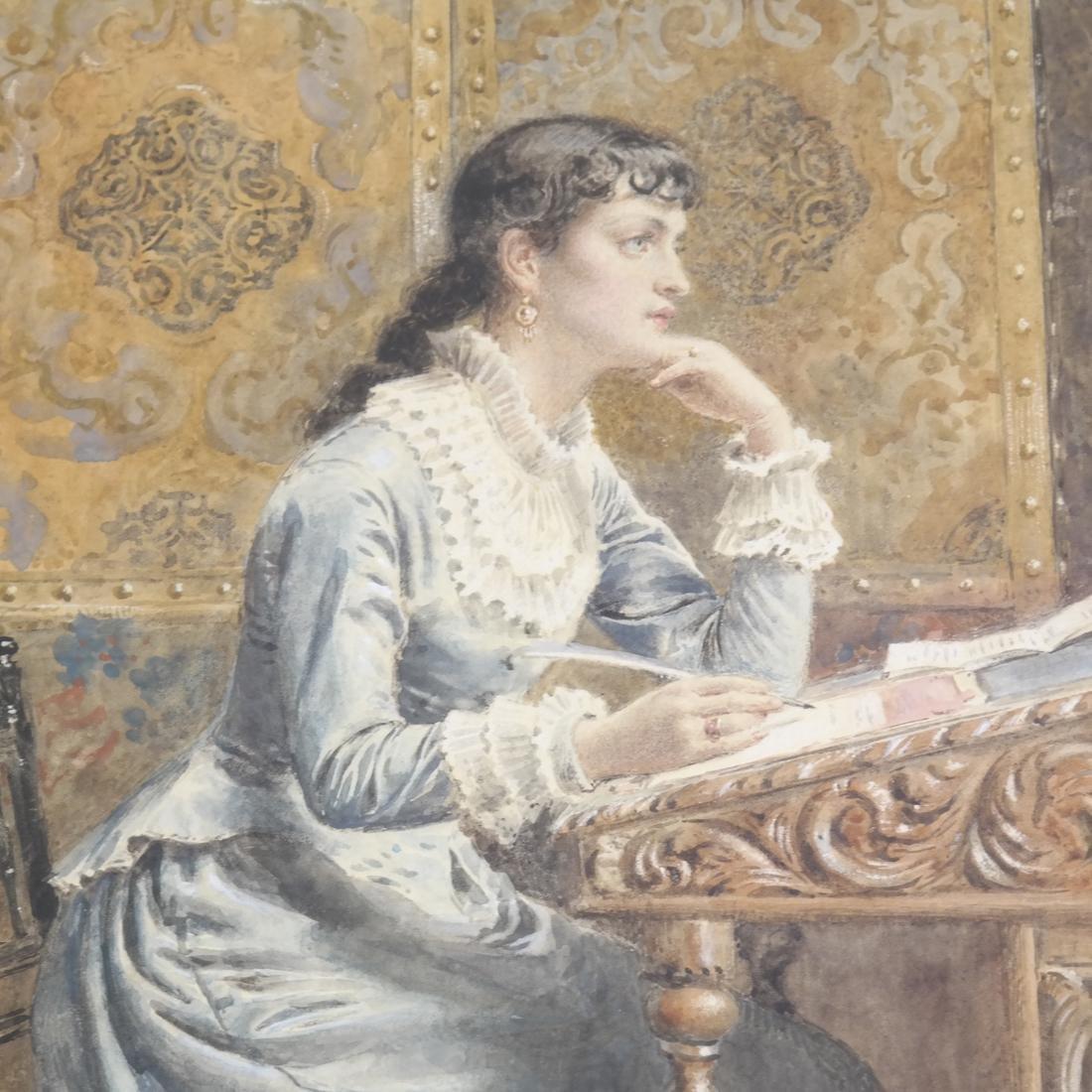 G. Kilburne, Writing The Letter - 4