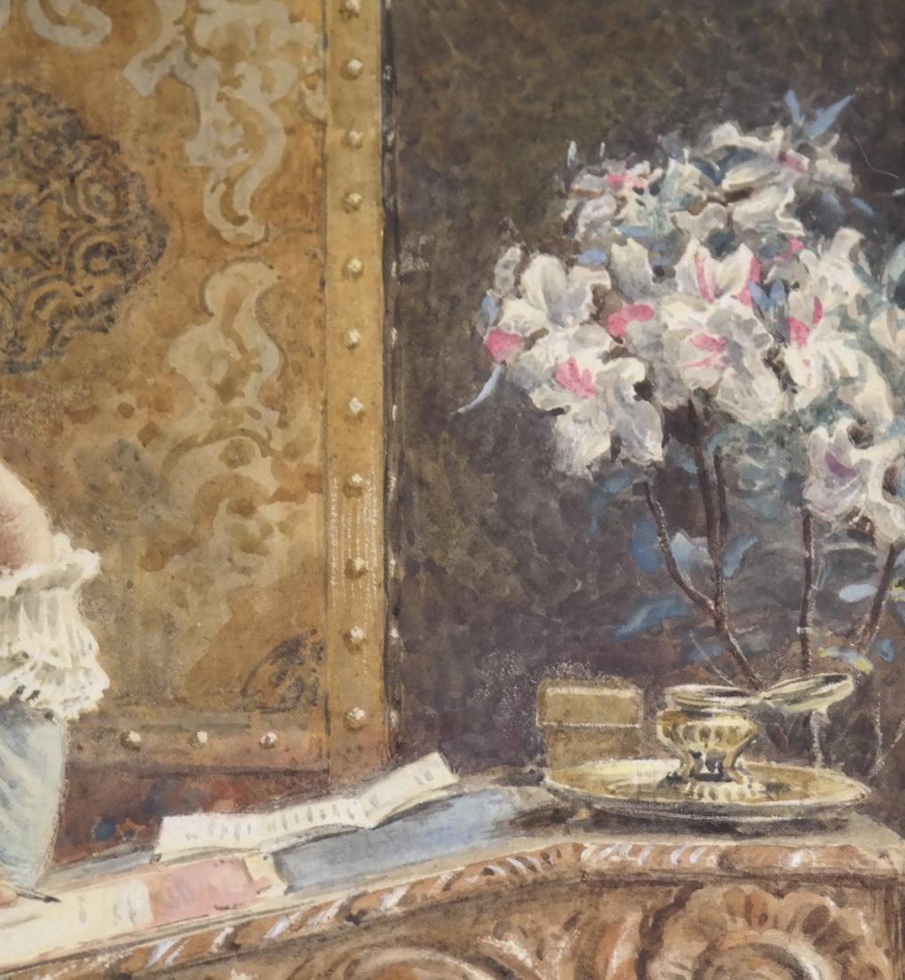 G. Kilburne, Writing The Letter - 7