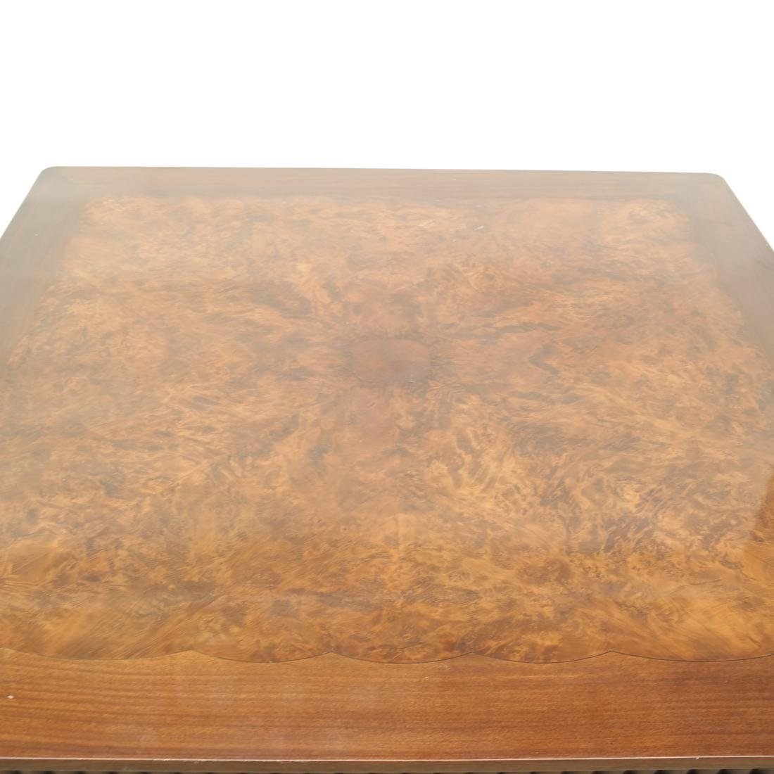 English Mahogany Coffee Table - 2