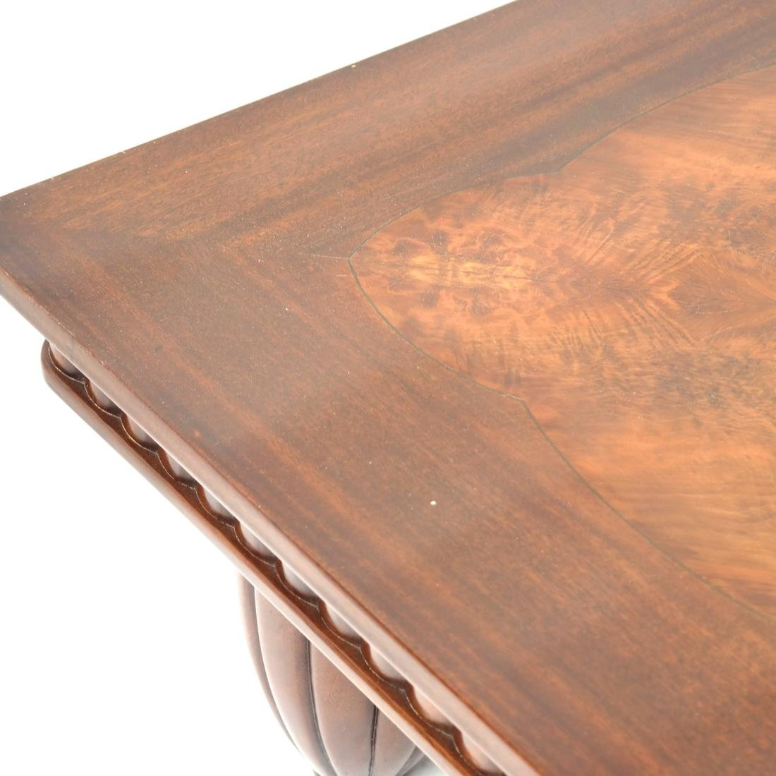 English Mahogany Coffee Table - 4