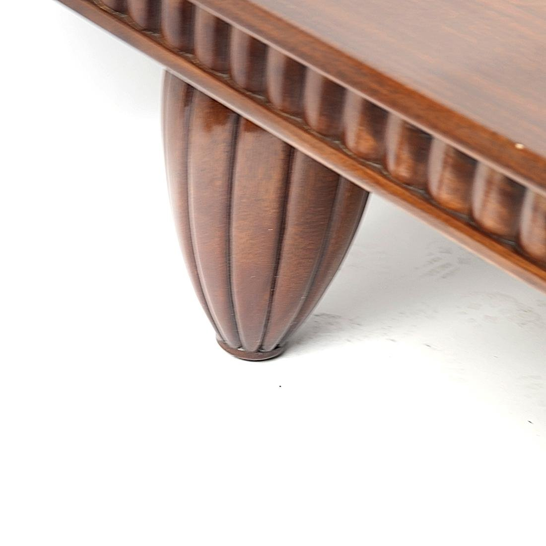 English Mahogany Coffee Table - 5