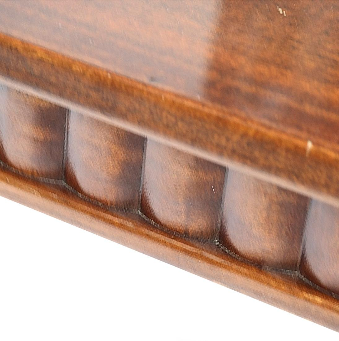 English Mahogany Coffee Table - 7
