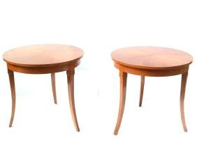 Pair of Bouillotte-Style Tables