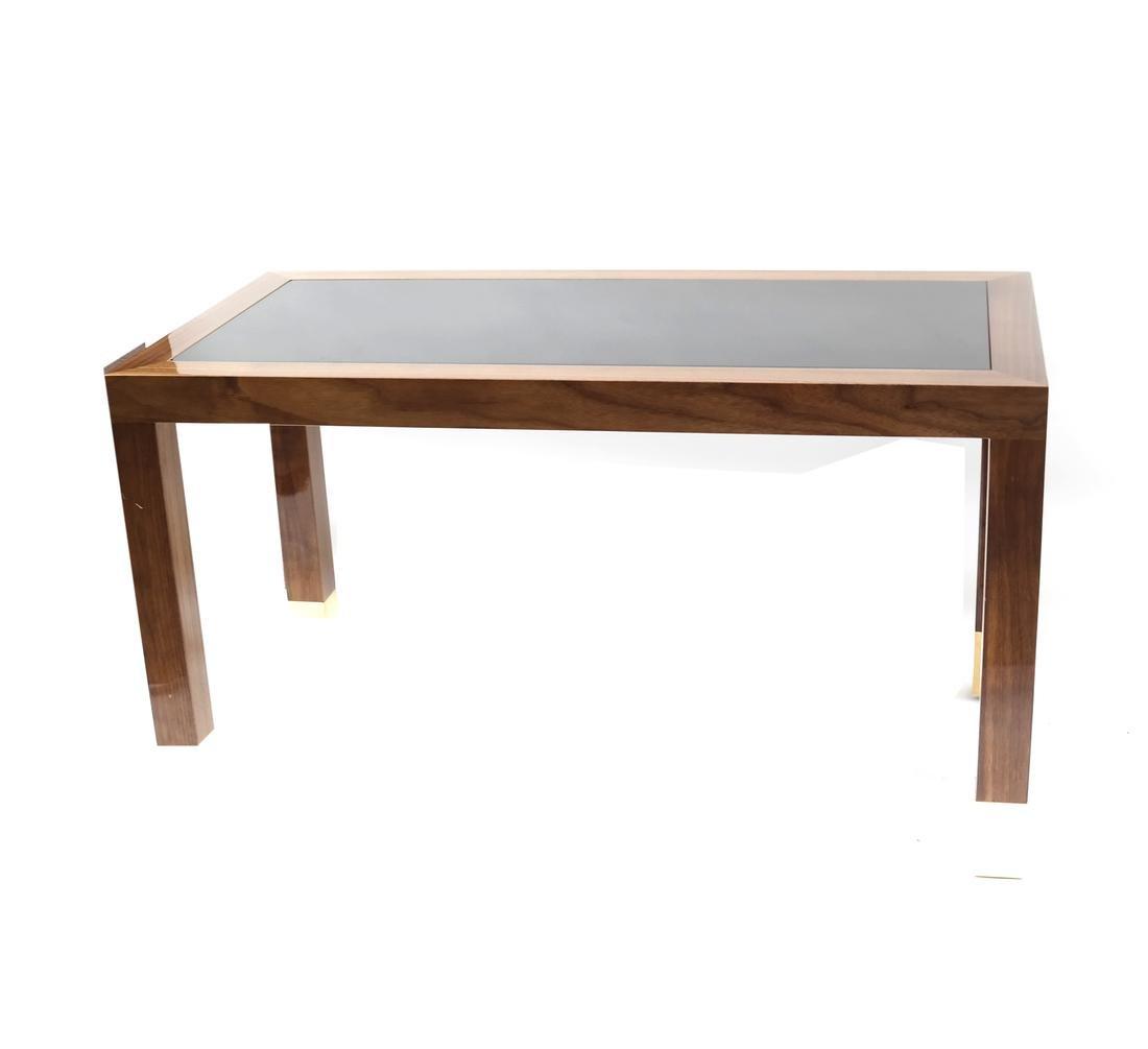 Contemporary Lacquer Two-Tone Desk