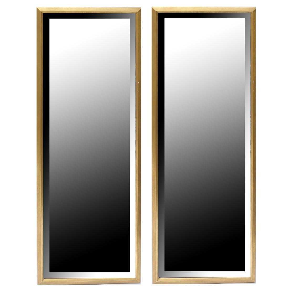 Pair of Contemporary Gilt Mirrors