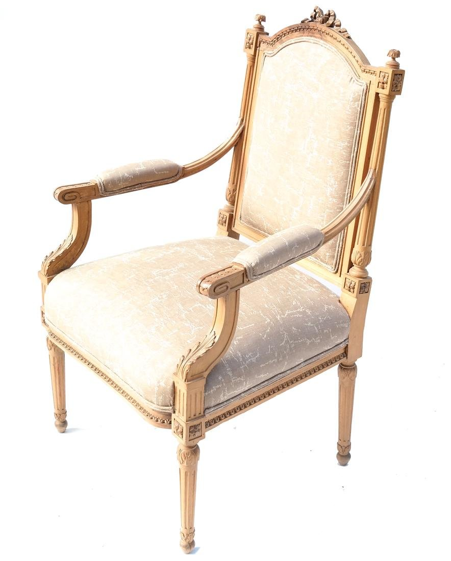 French-Style Open Armchair
