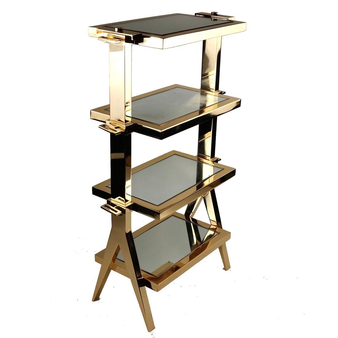 Gilt Bronze Four-Tier Table