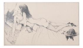 Nude Femme Lovers, Print