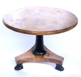 Empire-Style Center Table
