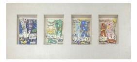 James Rizzi, Four Works