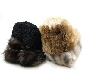 Vintage Fur Stoles & Hats