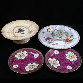 Six Various Porcelain Articles