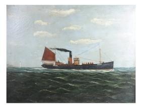 British Framed Maritime Painting