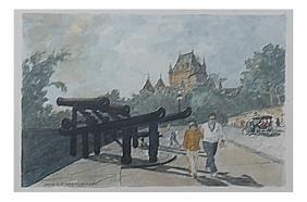 Jacques Letoureau, Park Scene