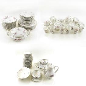 Bavarian Porcelain Part Table Service