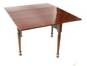 English-Style Drop-Leaf Table