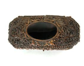 Southeast Asian Pierced Carved Box