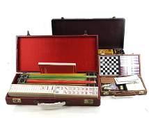 Three Vintage Game Sets