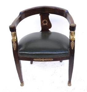 Empire Barrel Back Chair