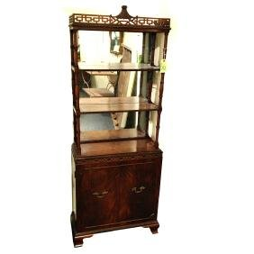 Chinese Chippendale-Style Etagere