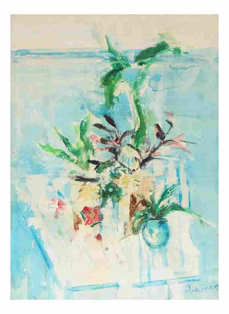 Modern Still Life - Oil On Canvas