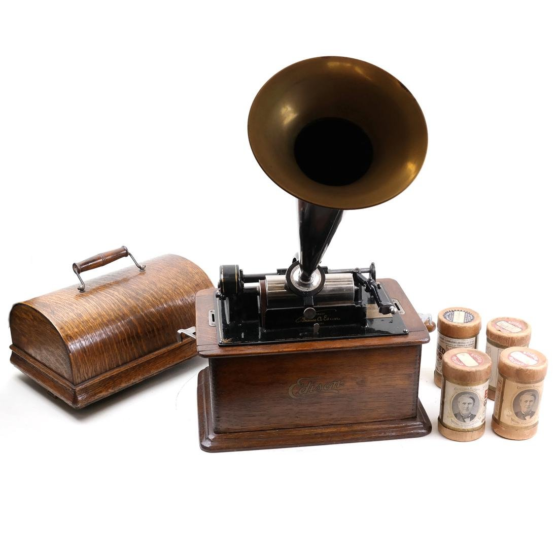 Edison Cylinder Phonograph Player