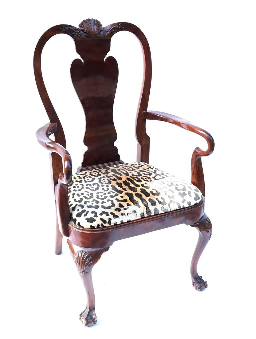 Queen Anne-Style Armchair by Karges