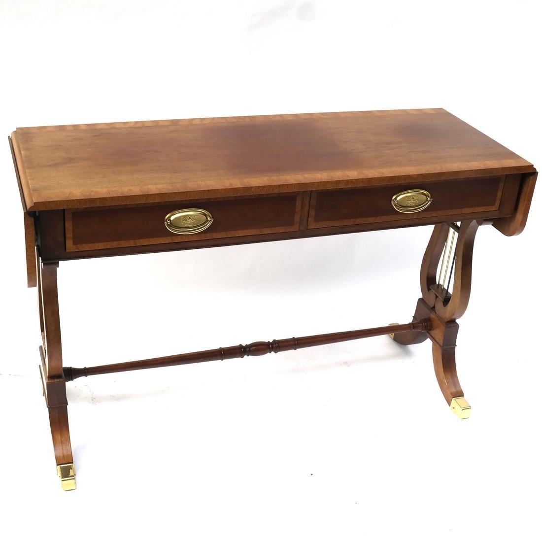 Regency-Style Sofa Table by Baker