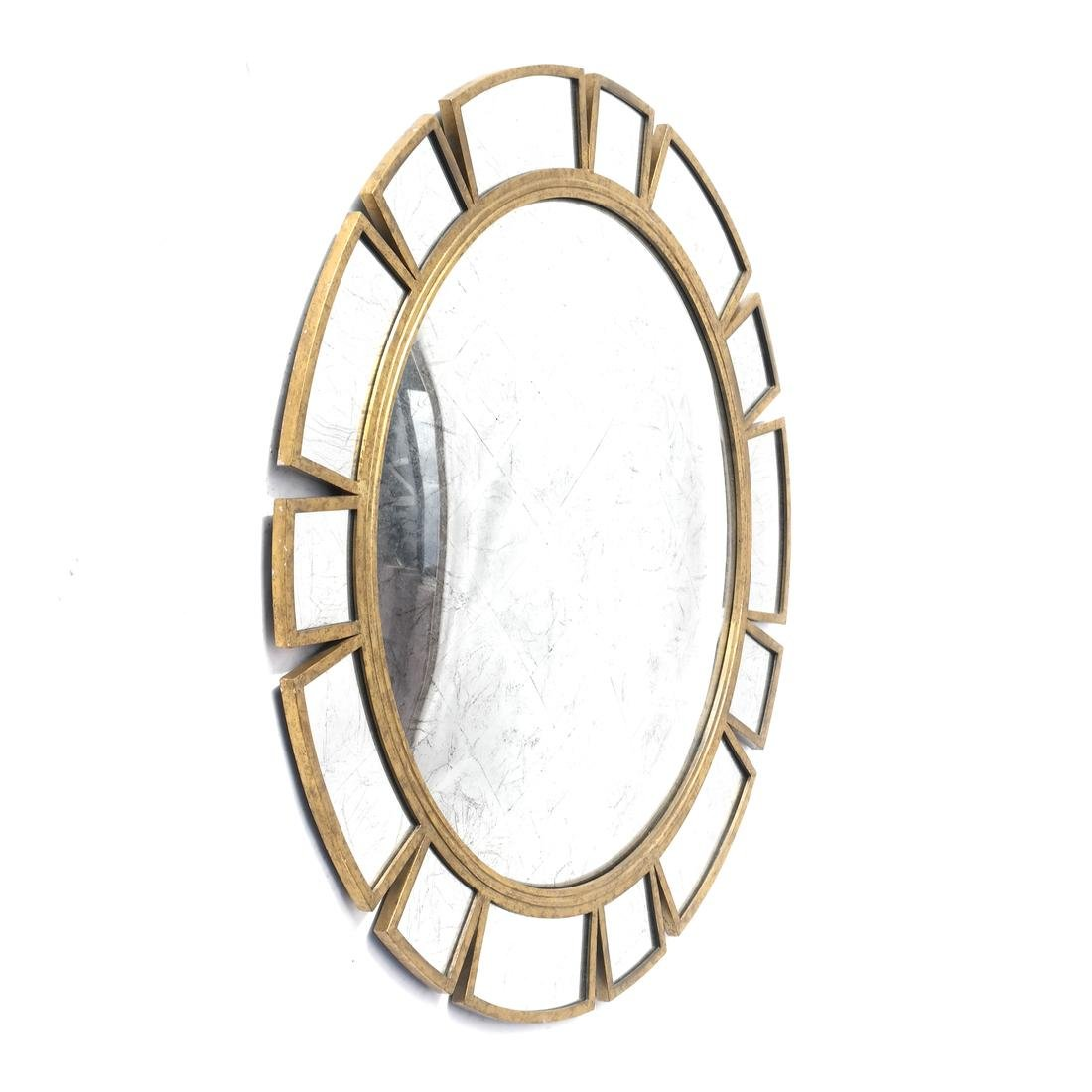 John Richard Mid-Century Sunburst Mirror