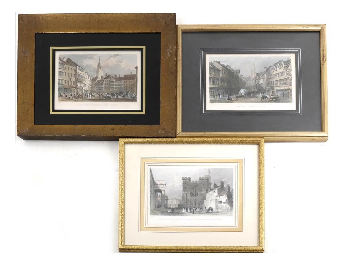 Three 19th Century Views of Newcastle-Upon-Tyne