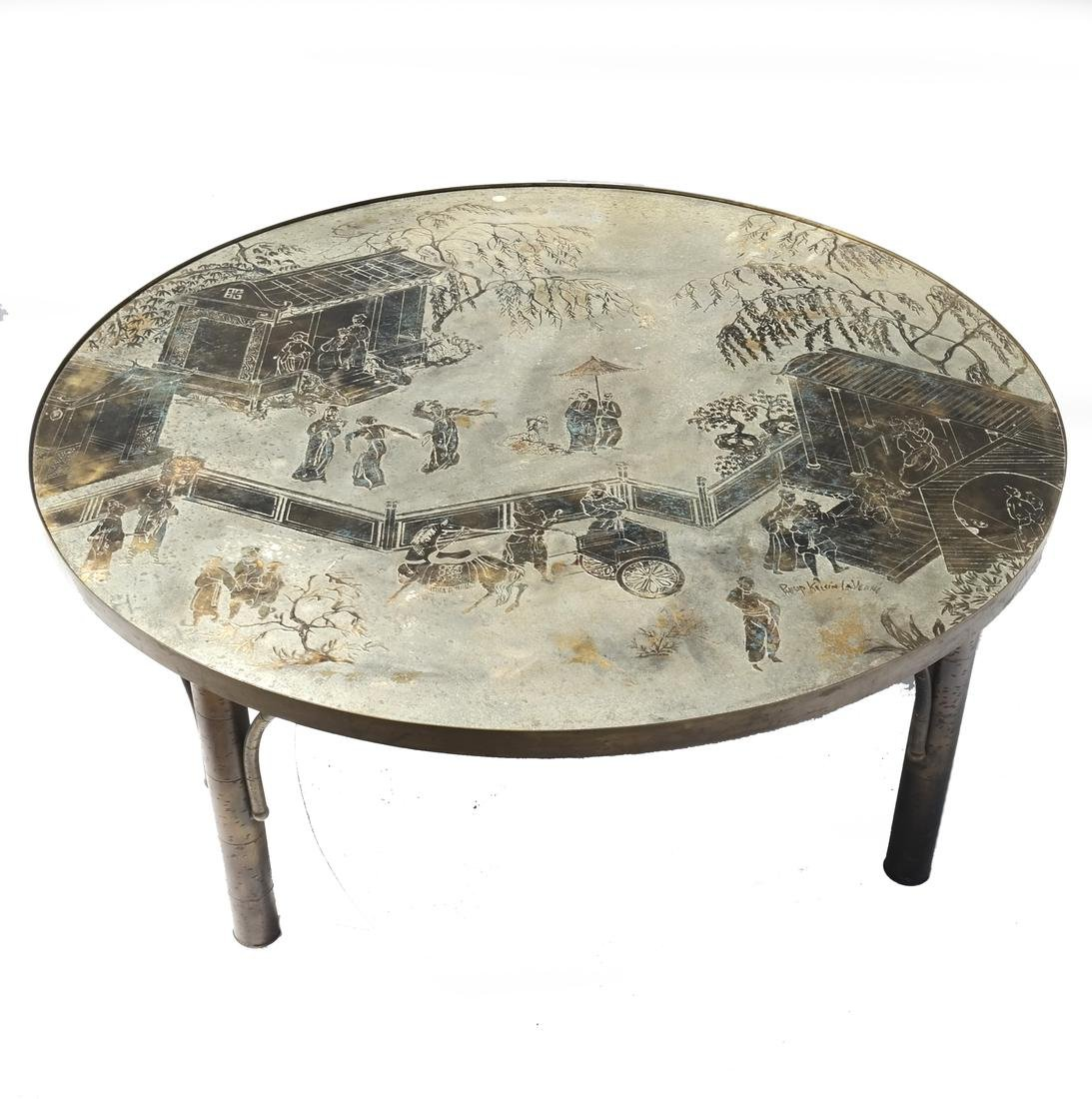 "Philip & Kelvin Laverne ""Kang Tao"" Table"