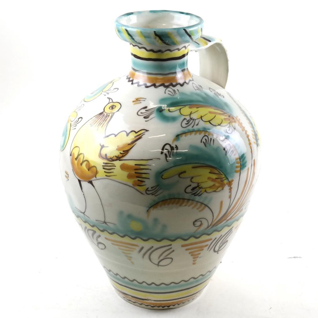 Contemporary Ewer Form Vase