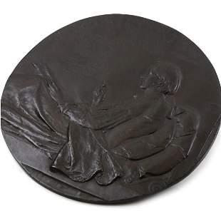 Augustus Saint-Gaudens - Robert Louis Stevenson, Bronze