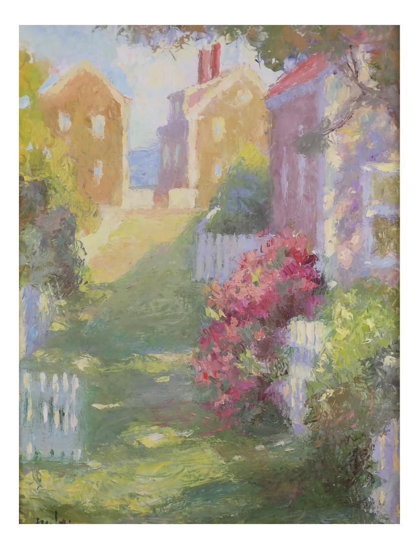 Hilda Neily (American, 20th Century) Framed Shaded Path