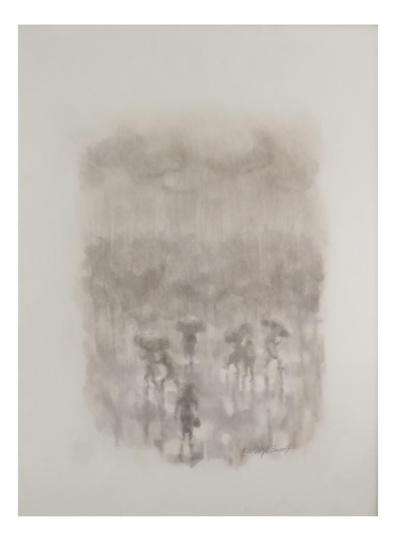 "Rita Wolfe Barnett, ""Dancing Through the Rain"" -"