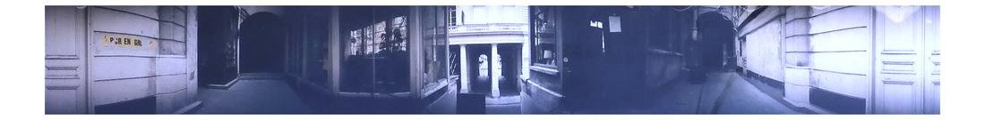 Kenneth Nelson, European Alley Way - Panoramic Collage