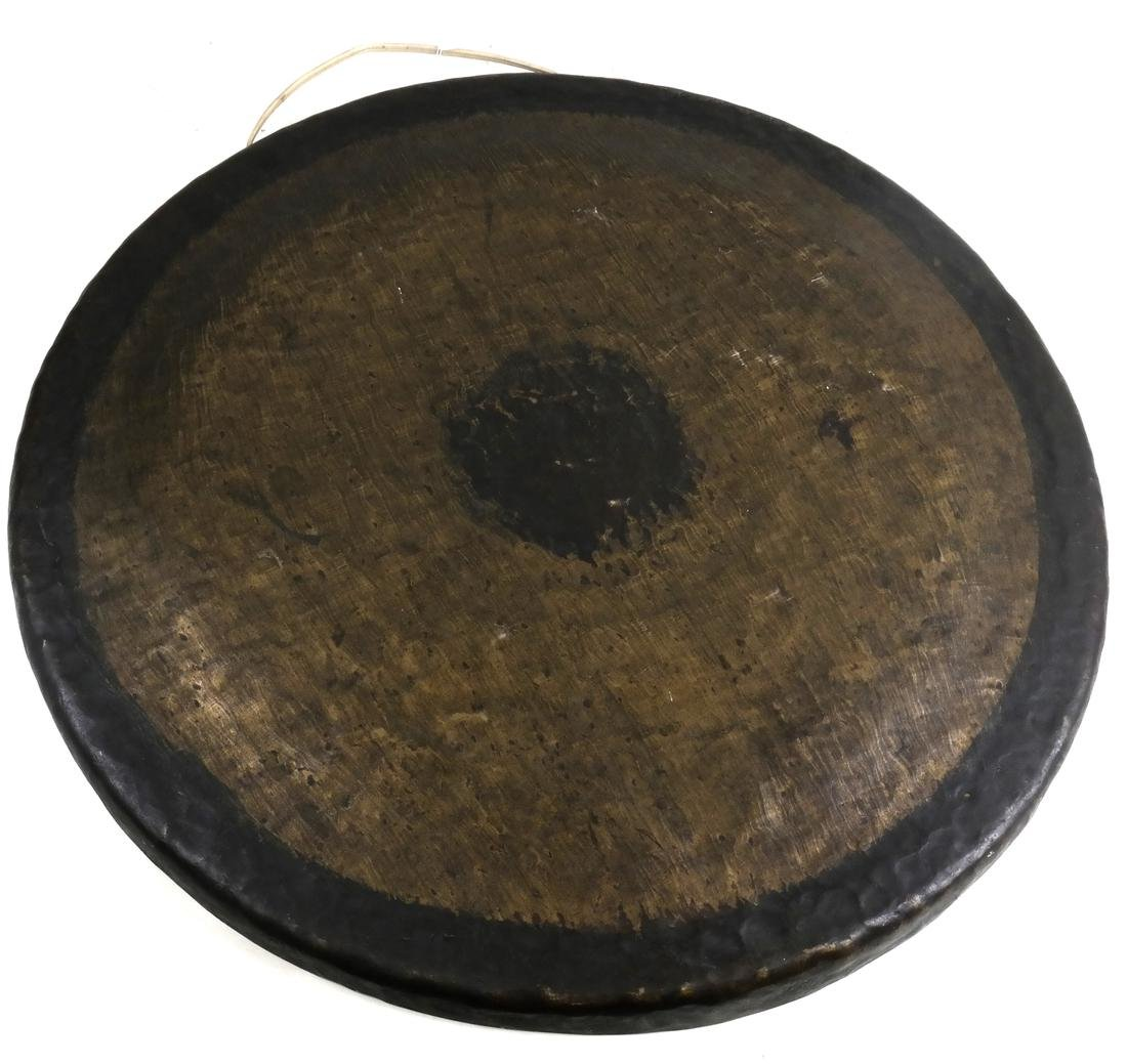 Chinese Bronze Decorated Gong