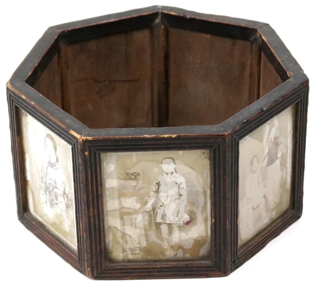 Chinese Albumen Photograph Box
