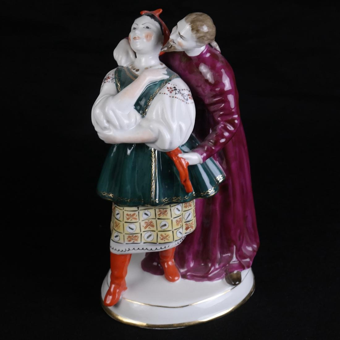 Russian Porcelain Figural Group