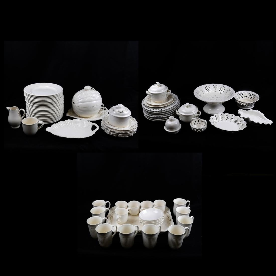 70-Pc English Assembled Ceramic Dishes