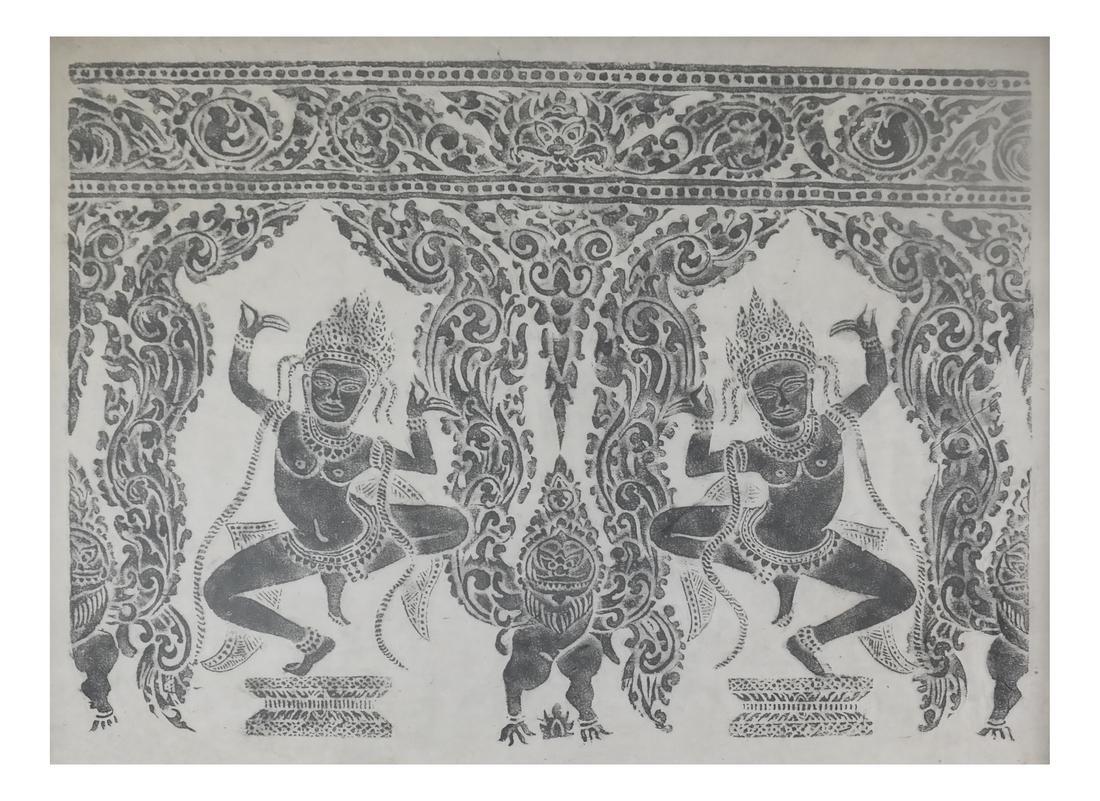 Thai Figural Rubbing