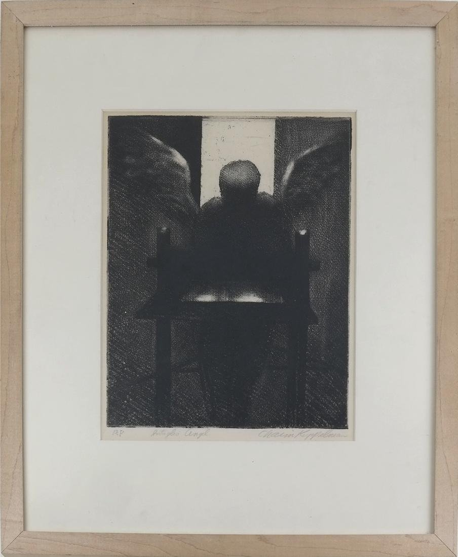 Chaim Koppel, Figure - Artist Proof