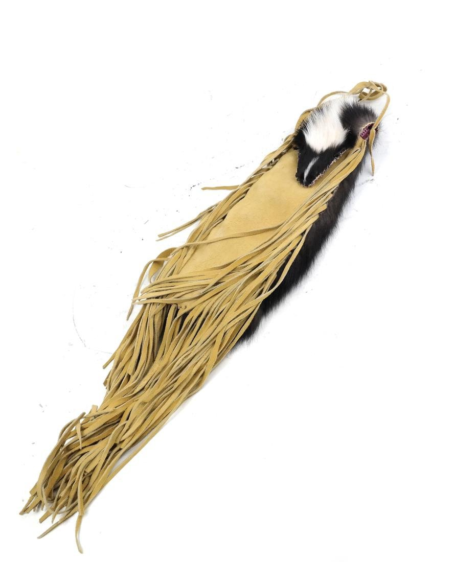 Skunk Tassle Shoulder Bag