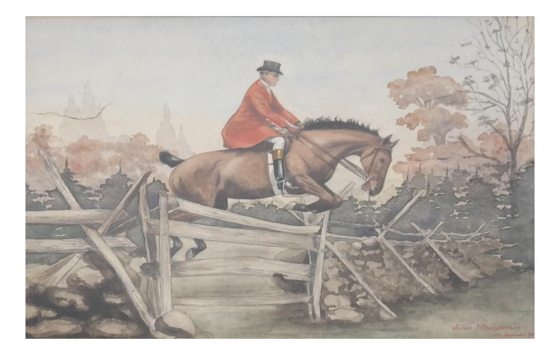 Julian Chamberlain, Steeple Chase